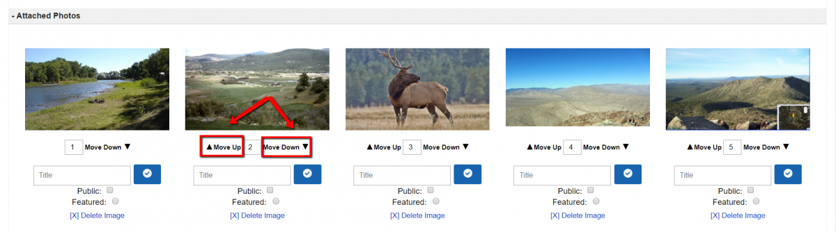 How To Add Images and Rearrange The Order of Your Images On Your Listing