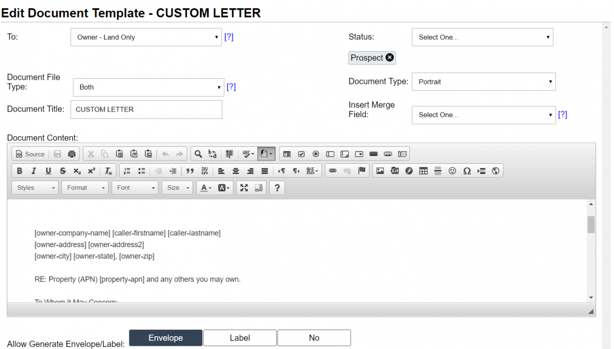 How To Customize Jack's Offer Templates