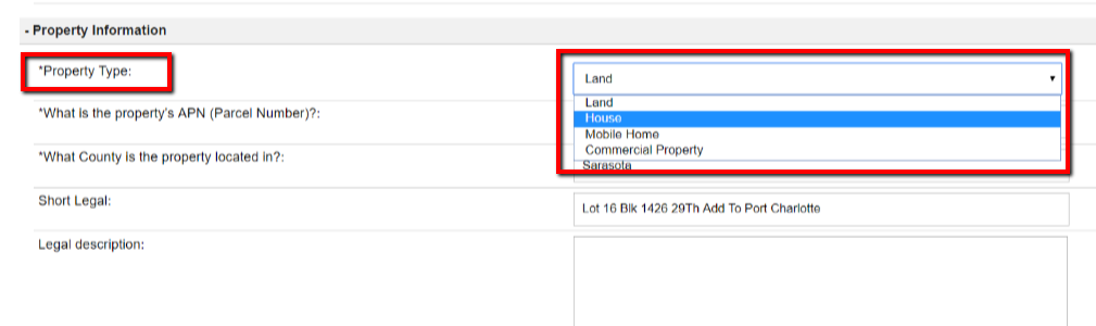 How To Move A Land Deal Over To The House Deal Section and Vice Versa
