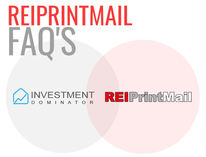Direct Mail Service -REIPrintMail Integration FAQ's –What You Need To Know
