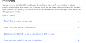 Setting Up a Domain with Google Domains