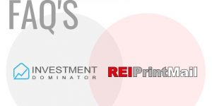 Direct Mail Service -REIPrintMail Integration FAQ's --What You Need To Know