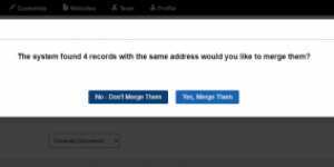 Merging Records with REI PrintMail Integration