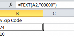 Excel Removes Leading Zeros From My Zip Code Data When I Export To .CSV How Do I Fix That?